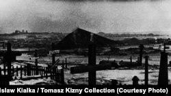 Кладбище заключенных ГУЛАГа в Воркуте