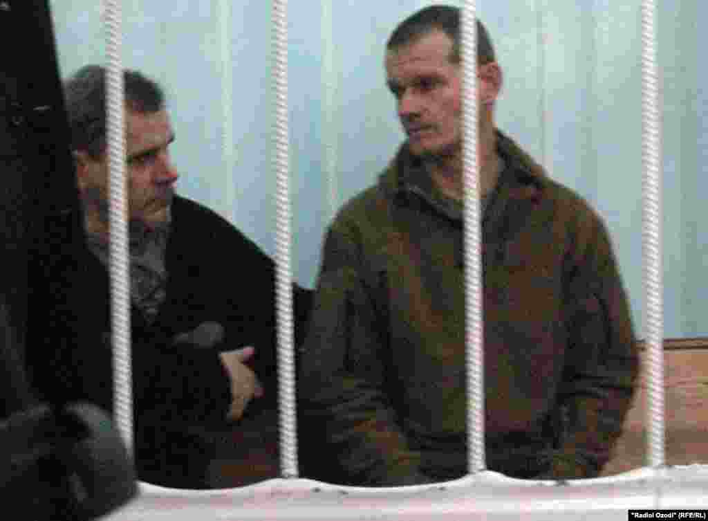 Алексей Руденко (аз тарафи чап) ва Владимир Садовничий