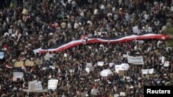 Египет – Каирская площадь Тахрир, 1 февраля 2011 г.
