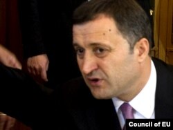 Poland -- Prime Minister of Moldova Vlad Filat at the Eastern Partnership Summit in Warsaw, 30Sep2011