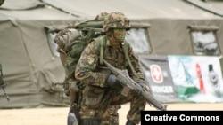 Солдат швейцарської армії