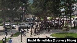 Վրաստան - Բախումները Դմանիսիում, 17-ը մայիսի, 2021թ․