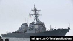 Есмінець USS Ross відвідував Одесу у 2016 році