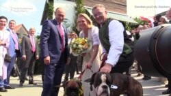 Putin Waltzes At Austrian Foreign Minister's Wedding