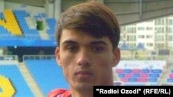Tajik football player Khurshed Beknazarov