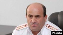 Ճանապարհային ոստիկանության ճանապարհապարեկային ծառայության բաժնի պետ Նորիկ Սարգսյան