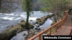Šetnica Šrtbački buk, Nacionalni park Una