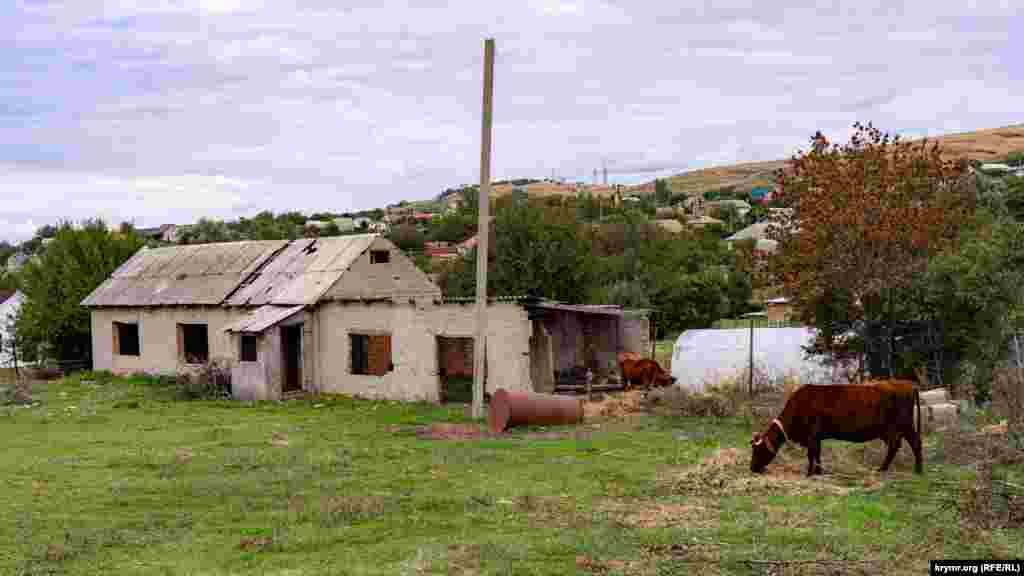 Заброшенное строение в районе улицы Осипова