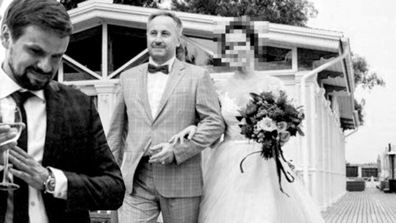 Russian Wedding Photos Highlight Novichok Suspect's Security Ties