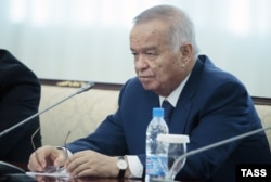 Former Uzbek President Islam Karimov (1938-2016) didn't enjoy optimum relations with his neighbors. (file photo)