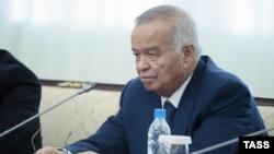 Өзбекстандын мурдагы президенти, маркум Ислам Каримов.
