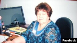 Директор Усть-Ярульской школы Вера Заводян