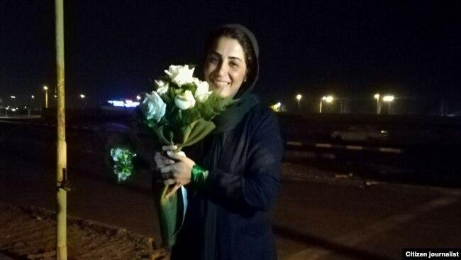 نرگس حسینی پس از ۲۰ روز بازداشت با وثیقهای ۶۰ میلیون تومانی آزاد شد.
