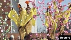 Праздник Нооруз, Бишкек, 21 марта 2012 года.