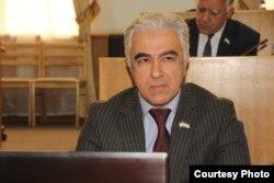Председатель Демократической партии Таджикистана Саиджафар Усмонзода.