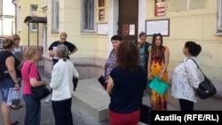 Казандагы Гагарин урамындагы миграция хезмәте идарәсе бинасы
