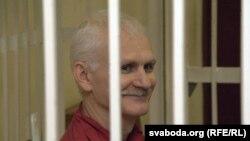 Jailed Belarusian rights activist Ales Byalyatski