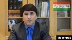 Тәжікстанның қуғындағы оппозициялық Group24 тобының жаңа жетекшісі Шарофиддин Гадоев.