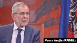 Президент Австрии Александр Ван дер Беллен.