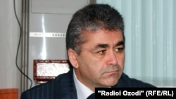 Tajik communications chief Beg Zuhurov