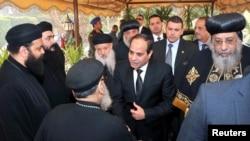 Претседателот на Египет Абдел Фатах ал Сиси