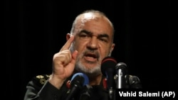 Commander of Iran's Revolutionary Guard Gen. Hossein Salami says the Guards can help health authorities to prevent spread of coronavirus.