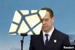 Нынешний глава правительства России Дмитрий Медведев