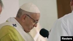 Поглаватор на Римокатоличката црква, папата Франциск
