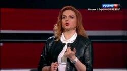 Гостья эфира Соловьева сравнила Зеленского и Трампа