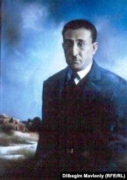Портрет Усмана Ходжаева. Автор: известный узбекский художник Кабул Адилов.