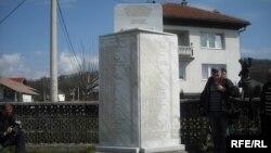 Spomenik ubijenim u Ahmićima