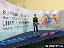 17 –летний уральский спортсмен Денис Никиша. Турция, 7 марта 2014 года.