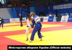 Дзюдоїстка Марія Скора виграла бронзову нагороду