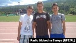Млади фудбалери од Мостар.