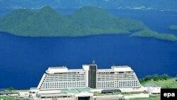 The Windsor Hotel u japanskom ljetovalištu Toyako, mjesto održavanja Summita G8.