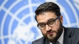 Afghan national-security adviser Hamdullah Mohib addressed the 74th session of the UN General Assembly in New York on September 30. (File photo)