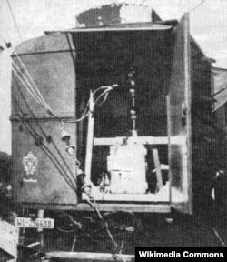 Одна из машин «лапландского передатчика»