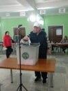 Imagine generică cu o secție de votare din Hâncești, 2019