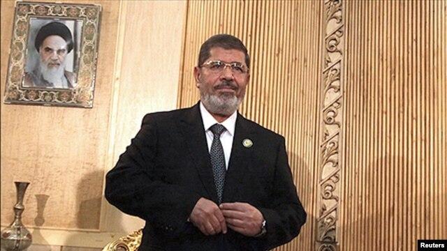 محمد مرسی، رییس جمهوری مصر در ایران
