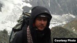 Лікар Василь Галушка під час підкорення найвищої гори Західної Європи Монблану