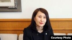 Кыргызстандын Сеулдагы консулу Нурзат Саякбек кызы.