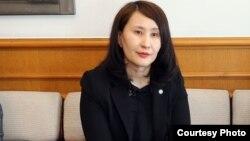 Консул Кыргызстана в Сеуле Нурзат Саякбек кызы.