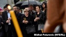 Porodice poginulih u Dobrovoljačkoj