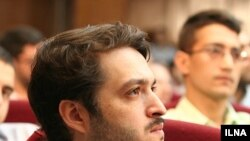 Mohammad Quchani on trial in Tehran in August.