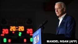 Joe Biden Mississippi államban 2020. március 8-án