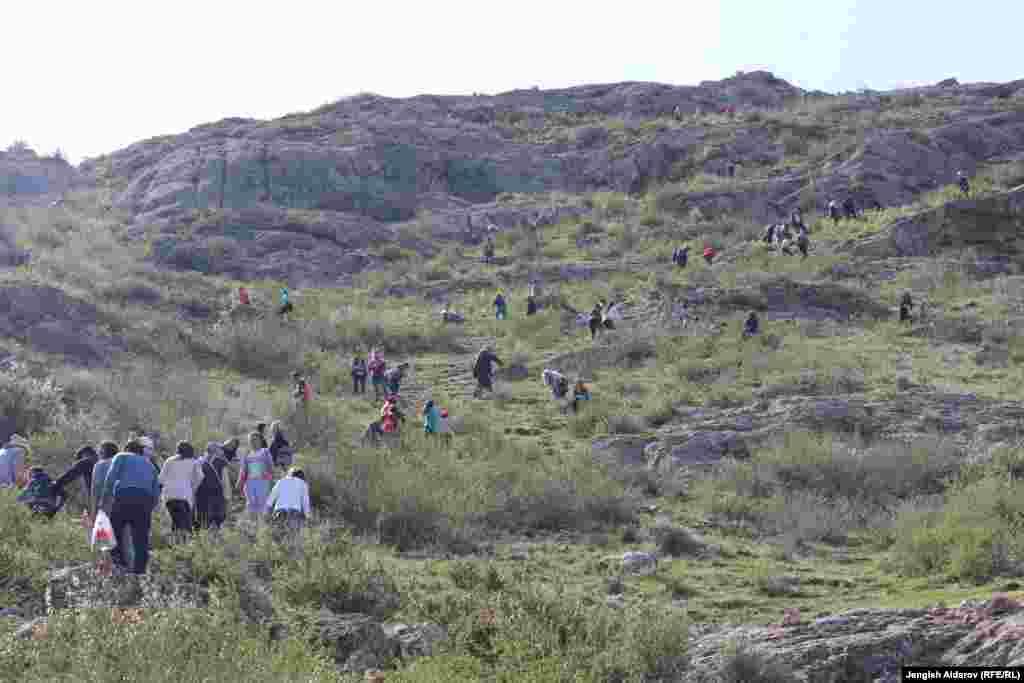 Паломничество местных жителей и туристов приводит негативным последствиям, в том числе к исчезновению эндемика.