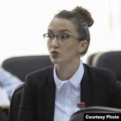 Теа Мицевска, студентска правобранителка на УКИМ