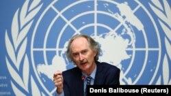 Սիրիայի հարցով ՄԱԿ-ի հատուկ բանագնաց Գեյր Փեդերսեն, արխիվ