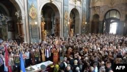 Похороны Василя Слипака