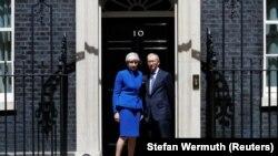 Premierul Theresa May anunță că va forma noul guvern, 9 iunie 2017